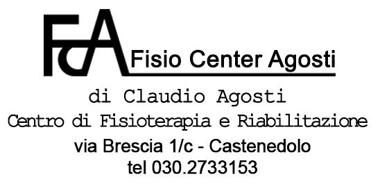 Fisio Center Agosti - di Claudio Agosti - Centro di Fisioterapia e Riabilitazione - Castenedolo